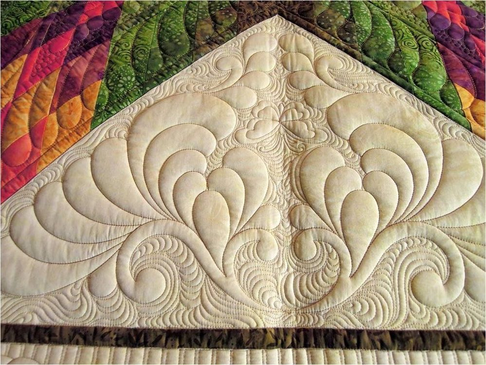 Quilting hecho a Máquina